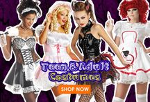 Teen & Adult Halloween Costumes 2016 / Look all grown up in a Halloween Costume form BestWigOutlet.com.