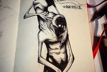 dark/weird art.