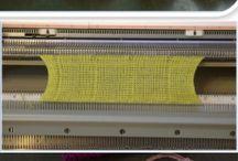 #machineknitting
