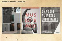 """CLASSE 5E 2015-16 - B-CAMPAGNA PER L'APERTURA NUOVO POLO MUSEALE """"BAILO"""" -PROPOSTE E PIEGHEVOLE"""