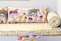 love: textiles / a love for beautiful textiles in the home: pillows, bedding, drapery..... / by Brooke Waite @ Design Stash