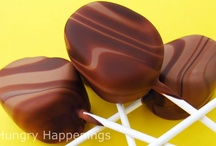 chocolate dipped marshmallow