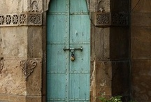 old world doors and windows / by iwantedtowonder