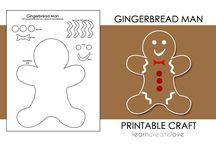 Gingerbread & Christmas / by Miss Bama Belle