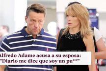 "Alfredo Adame acusa a su esposa: ""Diario me dice que soy un pu**"""