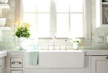 Kitchens / by A Pop of Pretty Blog