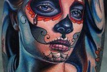 Catrina tatuagem