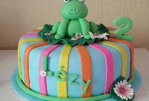 2nd birthday / Frog cake