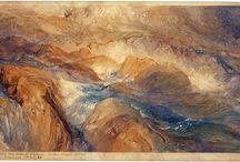 Ruskin / Storia dell'Arte Disegno e Pittura  19° sec. John Ruskin  1819-1900