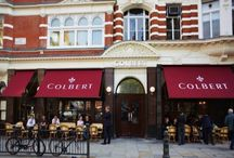 Colbert Restaurant, Sloane Square, London / Decorating by PA Schofield Ltd