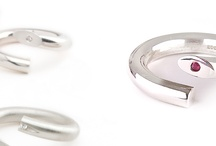 Twist collection by Andrea Eserin Jewellery / The eponymous 'Twist' collection. http://www.andreaeserin.co.uk/collections/twist