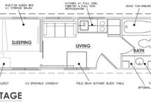 Tiny House Plans / Building plans for tiny homes