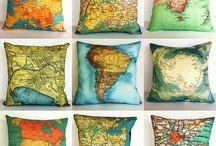 Decor pillows / throw pillows / cure home pillows