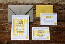 Wedding invitations/cards