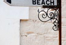 b e a c h / the ocean, sand & sun. babes in bikinis. pretty beaches  & waves.
