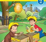 Curious George Early Readers / These books are perfect for readers learning to sound out words. Plus, educational materials are included at the end of each book.