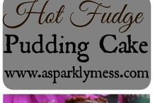 EASY PUDDING  CAKES , YUM !