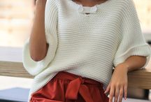 Вязаные пуловеры, свитеры, кардиганы