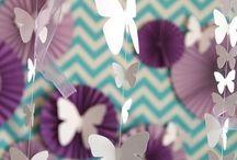 бабочки на шарики