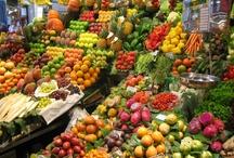 mercados, kauppahalleja, saluhallen...l