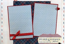 Scrapbooking pages-4th of July