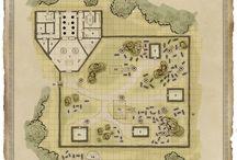 Fantasy - Karten & Pläne