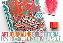 ART... Bible journaling