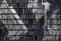 """Books / """"Reading gives us someplace to go when we have to stay where we are.""""  -- Mason Cooley"""