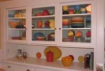 Fiesta ware makes me happy!  / by Sandra Gibbs Faigle