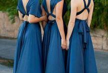 Damas de honor / Elecccion del vestuario para la boda de Evony