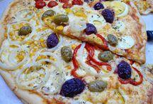PIZZA MISTA + PIZZA DE DAMASCO