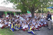 Ini Kiprah BNN Kabupaten Kediri Di SDN Sukoharjo Kayen Kidul