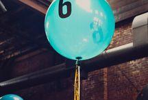 {Weddings} Table Numbers / CREATIVE TABLE NUMBERS