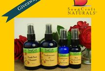 GIVEAWAYS / This board is all about special offers and giveaways that SongCroft Naturals has happening.