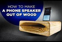Smartphone speakers/stand