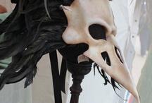 маски кожаные