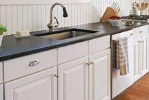 kitchen remodel / by Melana Denyer