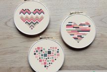cross stitch modern