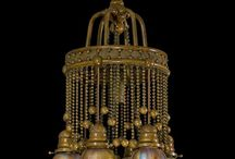 Starožitné lampy a lustre