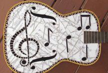 mosaïc guitare
