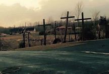 Deadly Tornado / A deadly tornado kills 4 and destroys everything but the three crosses stood tall against the deadly force of nature