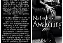 Natasha's Awakening all new teasers. / This was the very first book I wrote. It was written for a friend and never meant to go to publication but other friends said to publish so I did. Eric is the CEO, Natasha is his PA. When he propositions her. One week in a hotel for sex, nothing but sex and at the end of the week, they go back to normal. The thing is, can they both commit to the week without committing their hearts?