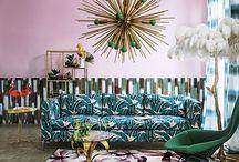 Inspiration: Tropical / Inspiration for a Rio or tropical trend led interior