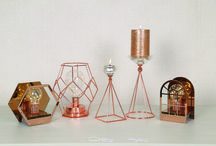 Metallic Blush / Cool copper, warm brass, and all the metallic hues in between make up our Metallic Blush theme.