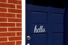 EXTERIOR DECOR / by Misty Norris