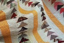 Quilts flying geese / Technique du vol d'oie