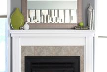 Fireplace / by Christie Vanbruaene
