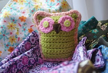 crochet chouettes / owls