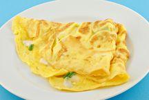 Omelette au kiri