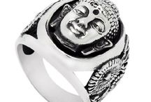 New, buddha ring, stainless steel  $16.97